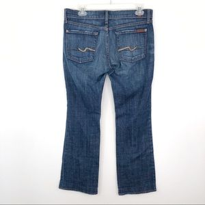 7 for all Mankind Bootcut Jean Embellished Pockets